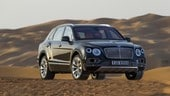 "Bentley Bentayga Falconry: ""caccia grossa"""
