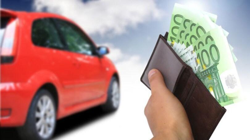 L'auto agli italiani nel 2016 è costata 175 miliardi di euro
