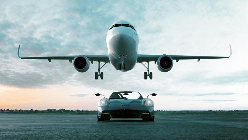 Lo stile Pagani sale a bordo dell'Airbus