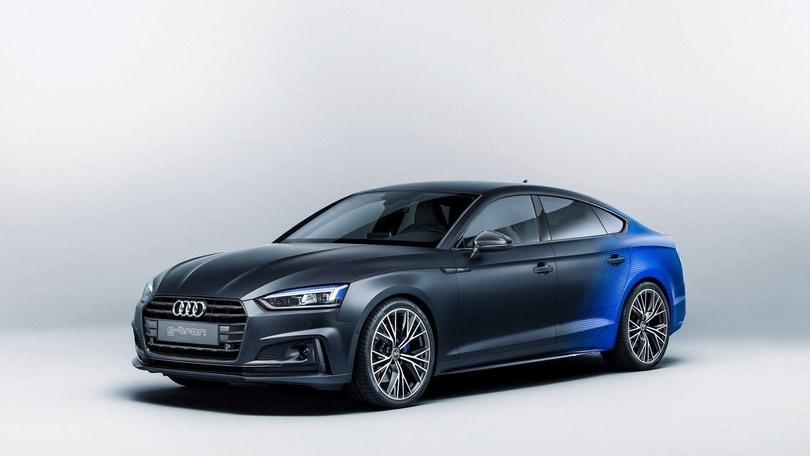 Audi A5 Sportback g-tron, il metano da 226 orari