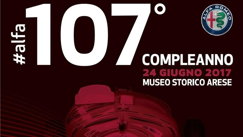 Festa Alfa Romeo per i 107 anni al Museo Storico