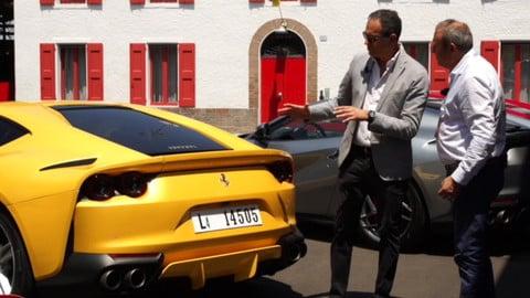 Ferrari 812 Superfast: intervista al designer Flavio Manzoni