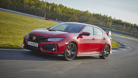 Honda Civic Typer R: foto
