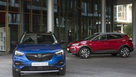 Opel Grandland X, le foto