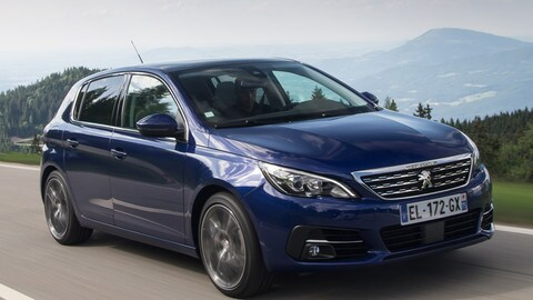 Peugeot 308 restyling, test su strada