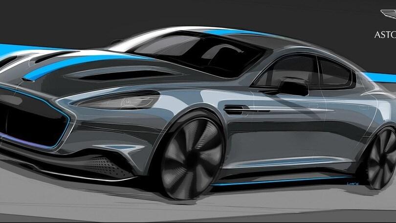 Aston Martin RapidE sarà la prima Aston elettrica