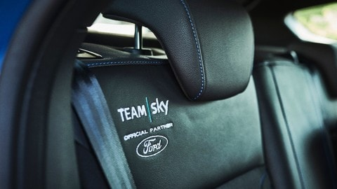 Ford Focus RS Team Sky al Tour 2017, le foto