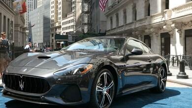 Maserati GranTurismo MY 2018, esordio a Wall Street