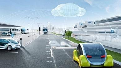 Bosch, veicoli connessi con l'Automotive Cloud Suite