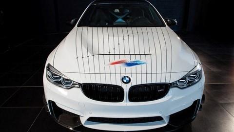 BMW M4 Le Mans Winner Hommage, le foto