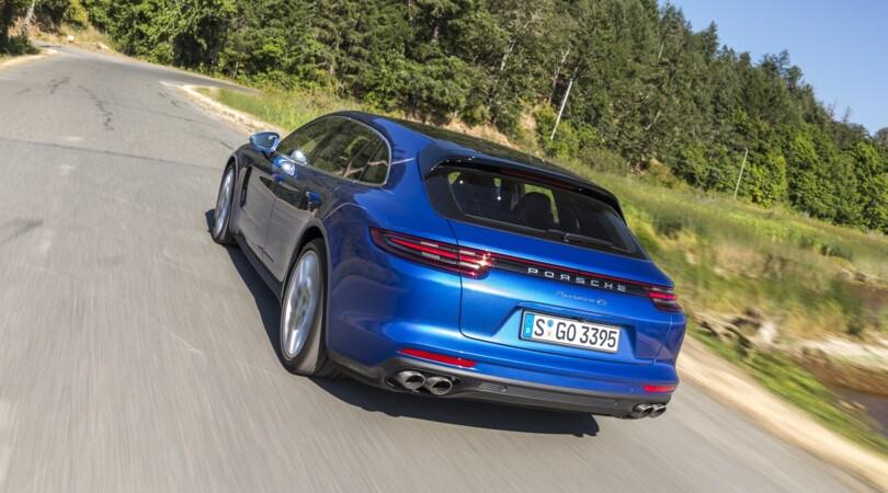 Porsche Panamera Sport Turismo: colpo di coda