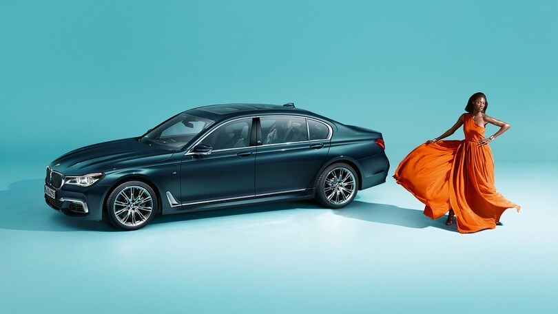 BMW Serie 7 40 Years Edition, l'Individual è standard