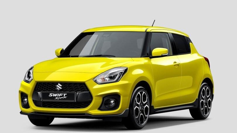 Nuova Suzuki Swift Sport, appuntamento a Francoforte