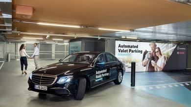 Bosch Automated Valet Parking, così ti parcheggio l'auto