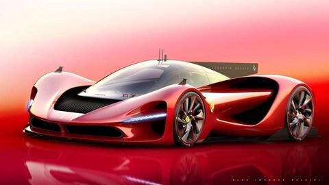 Ferrari P3, la hypercar del futuro secondo il designer