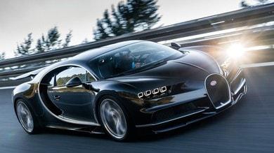Bugatti, l'erede della Chiron sarà ibrida