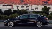 Tesla Model 3, inizia la produzione della Long Range Battery