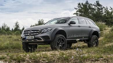 Mercedes Classe E All-Terrain 4x4², wagon inarrestabile