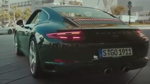 Porsche presta ai cittadini la milionesima 911