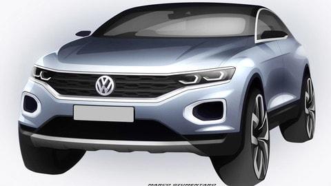 Volkswagen T-Roc, ultimi render del SUV compatto