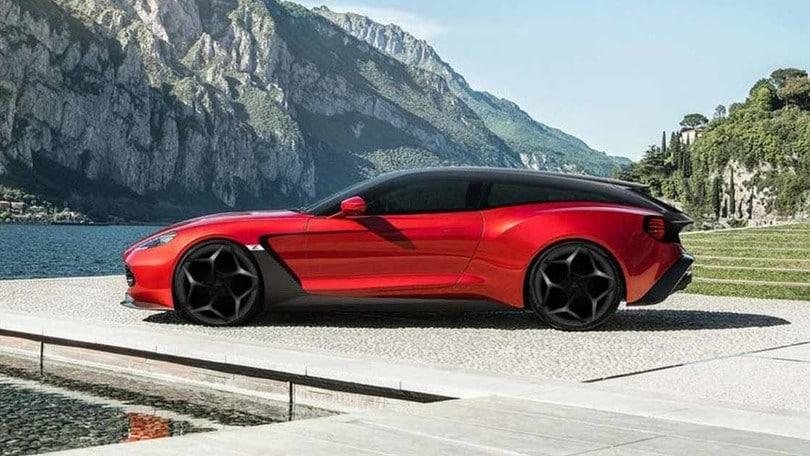 Nuove Aston Martin Vanquish Zagato Speedster e Shooting Brake