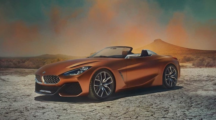 BMW Z4 Concept, la terza generazione sarà uno squalo