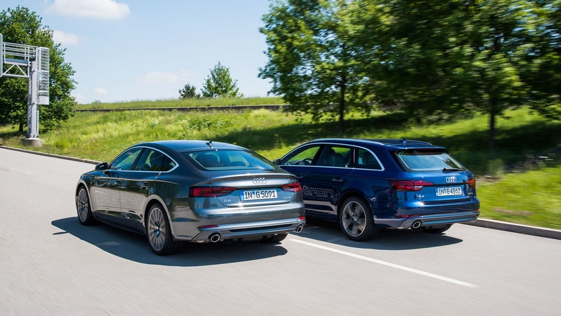 Audi A4 Avant e A5 Sportback g-tron, il metano è premium