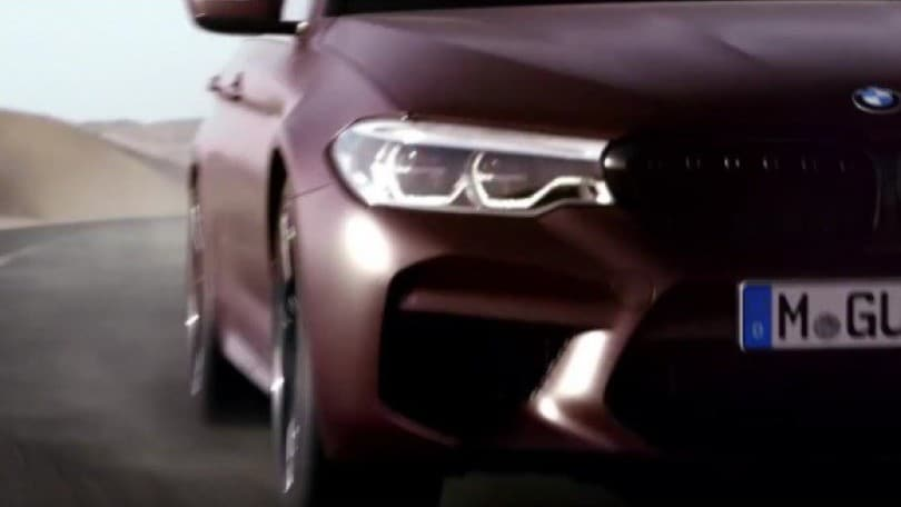 BMW M5, 600 cavalli e trazione integrale