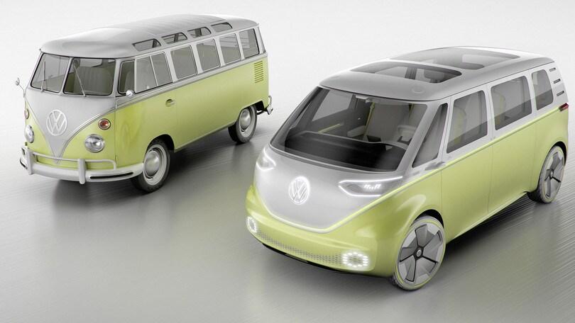 Il ritorno del Bulli: nel 2022 il minivan elettrico Volkswagen