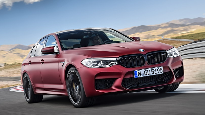 Nuova BMW M5, 600 cavalli e trazione integrale