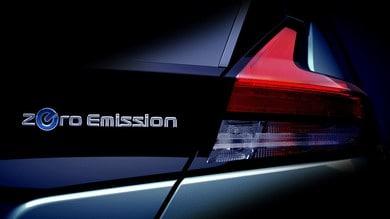 Nissan Leaf, nuovo teaser della seconda generazione
