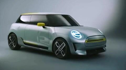 Mini elettrica: la concept debutta a Francoforte