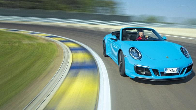 Porsche 911 Carrera 4 GTS Cabrio: la prova strumentale