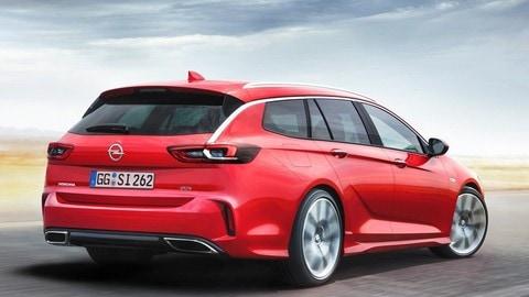 Opel Insignia GSi Sports Tourer, le foto
