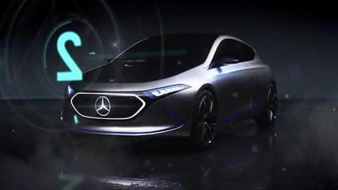 Mercedes EQ A Concept, l'elettrica adesso