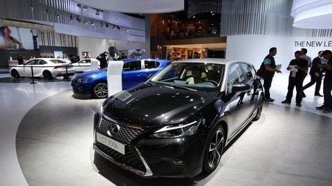 Lexus CT Hybrid 2018, le foto