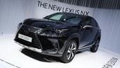 Lexus, CT Hybrid e NX Hybrid restyling a Francoforte