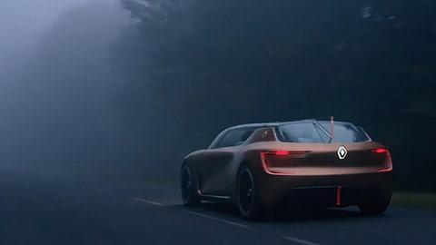 """Renault Symbioz concept, l'auto """"domotica"""" al Salone di Francoforte"""