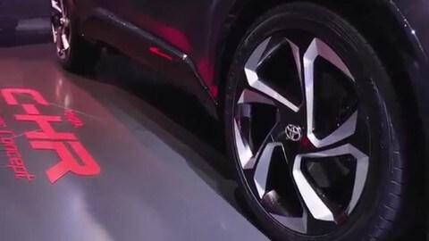Toyota C-HR Hy-Power Concept, prova di forza