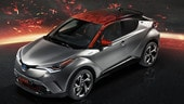 Toyota C-HR Hy-Power Concept, l'ibrido diventa cattivo