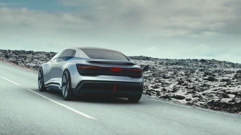 Audi Aicon concept, automazione totale