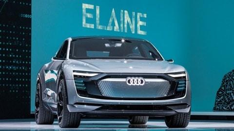 Audi Elaine Concept, le foto