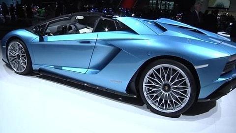 Lamborghini Aventador S Roadster al Salone di Francoforte
