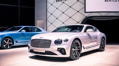 Bentley Continental GT, a Francoforte debutta la prima della classe