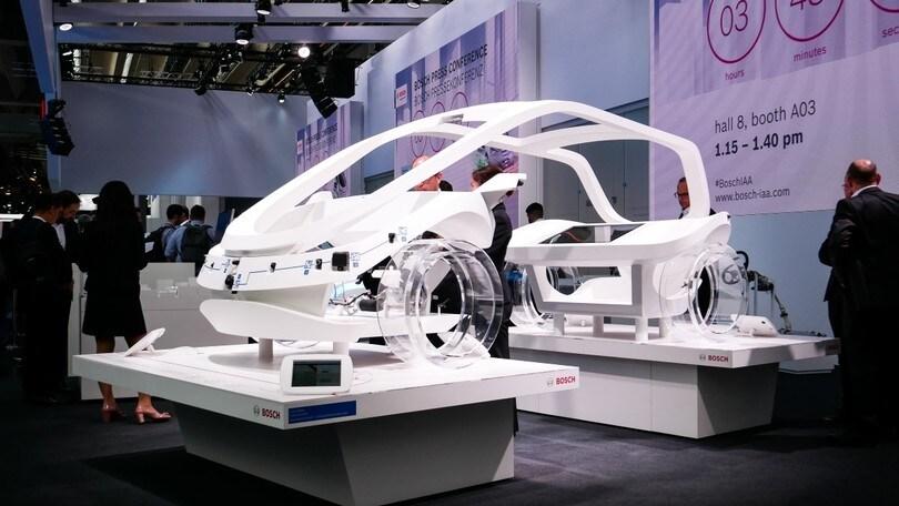 Bosch, il futuro dell'auto tra guida autonoma e connettività