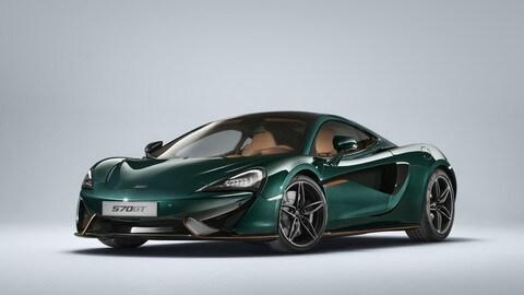 McLaren 570GT XP Green, le foto
