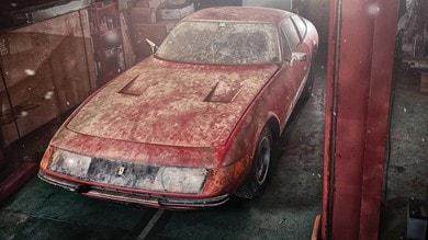 Ferrari 365 GTB/4, l'incredibile storia di un gioiello da fienile