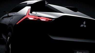 Mitsubishi e-Evolution concept, a Tokyo prove di suv del futuro