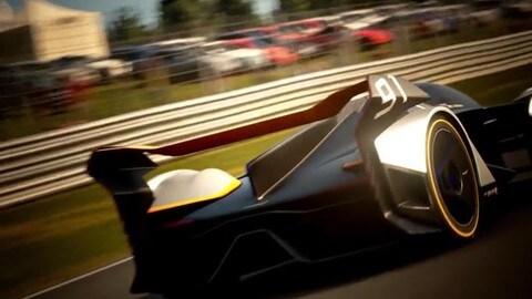 McLaren Ultimate Vision Gran Turismo, hypercar motociclistica