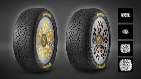 """Continental studia gli pneumatici che """"sentono"""" la strada"""